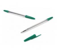 Długopis zielony crystal