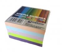 Kostka biurowa kolor 85x85 5cm klejona