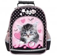 Plecak szkolny 15''  My Little Friend Kot