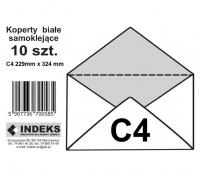 Koperta biała SK C4 10szt.