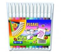 Pisaki 12 kolorów Kamet