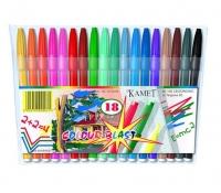 Pisaki 18 kolorów Kamet