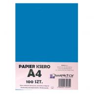 Papier ksero A4 100 intensywny niebieski