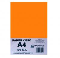 Papier ksero A4 100 intensywny pomarańczowy