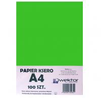 Papier ksero A4 100 intensywny zielony