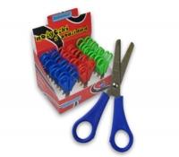 Nożyczki szkolne 13,5cm z podziałką