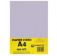 Papier ksero A4 100 pastelowy fioletowy