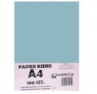 Papier ksero A4 100 pastelowy niebieski