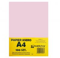 Papier ksero A4 100 pastelowy różowy