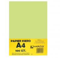 Papier ksero A4 100 pastelowy zielony