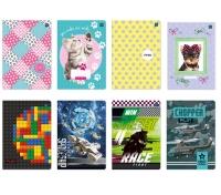Zeszyt A5 32 kartki w linię kolor Interdruk